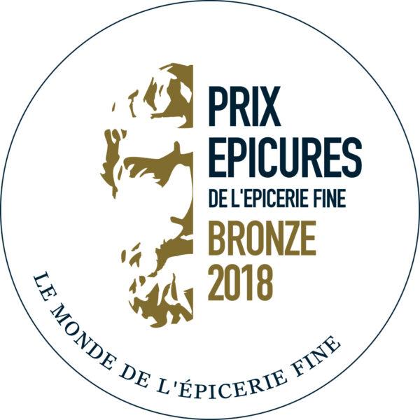 MEDAILLEV DE BRONZE EPICURE 2018