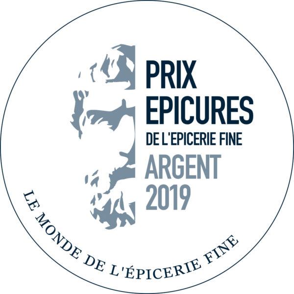 Medaille d'argent concours des epicures 2019